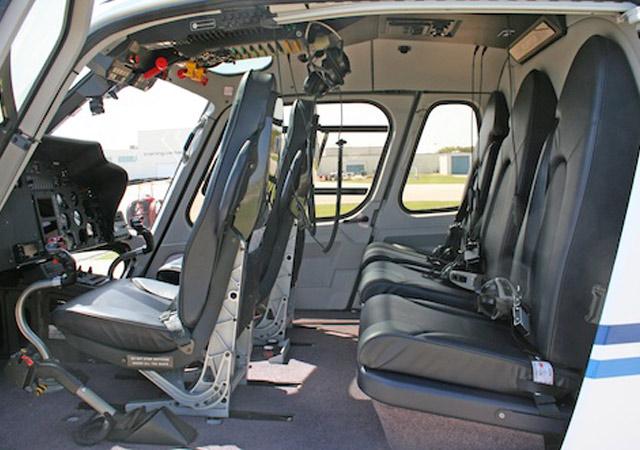 EC355 interior