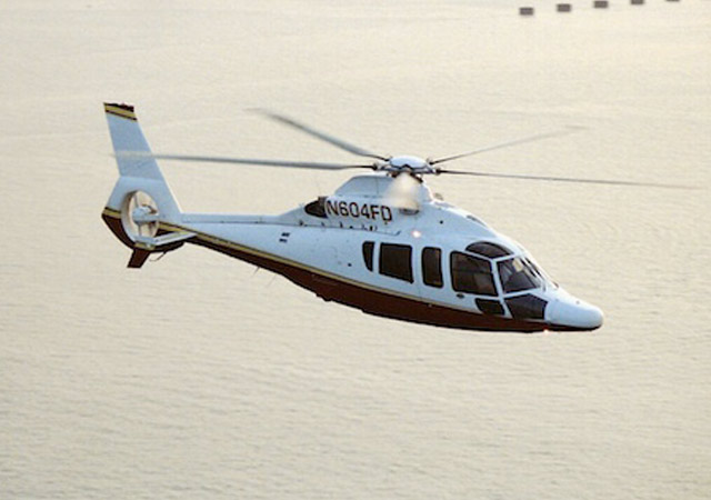 Charter EC155 helicopter
