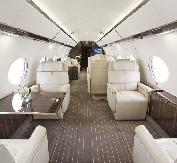 Gulfstream Business Jet In-Flight Productivity Tools