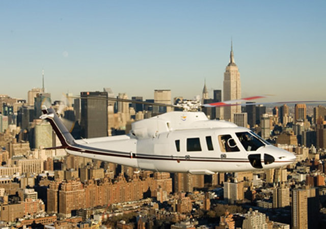 Rent a Sikorsky helicopter