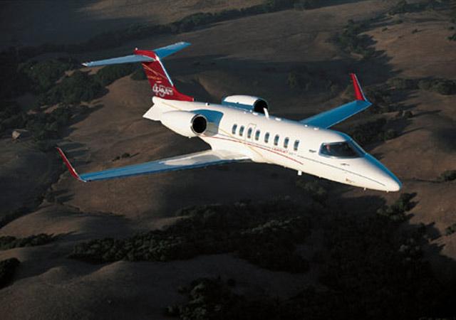 Lear 45 mid size jet
