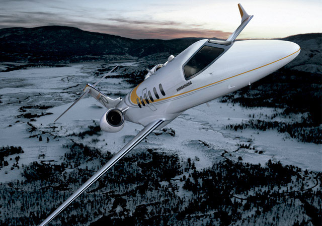 Learjet 70 light business jet