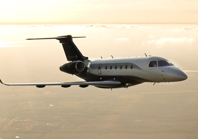 Brazilian midsize business jet Legacy 500