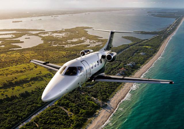 private jet cost Phenom 100e