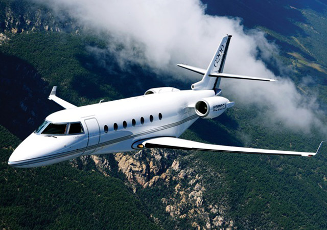 Fly on Gulfstream 200