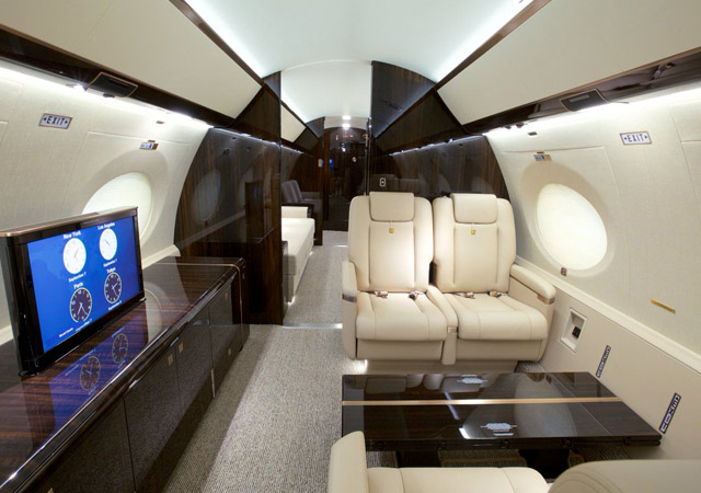 Fly private on a G650