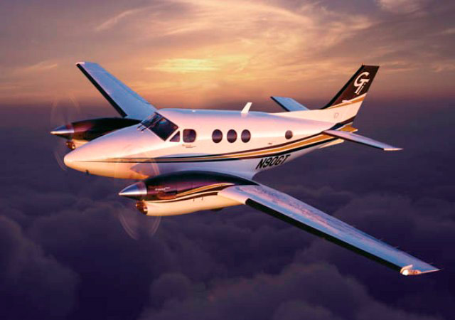 Book a King Air for charter