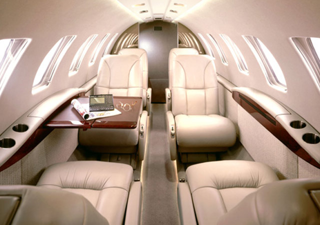 Citation 2 light jet for private charter