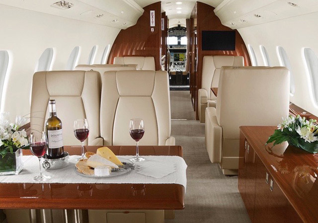Global 6000 for long distant trip
