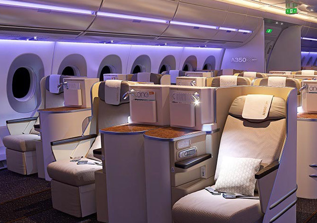 Charter a A350 for group air charter