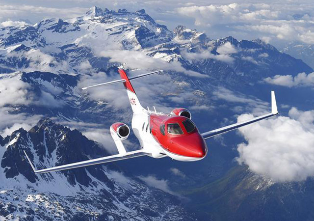 Book a Honda light jet