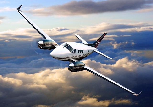 King Air C90GTX private charter rental