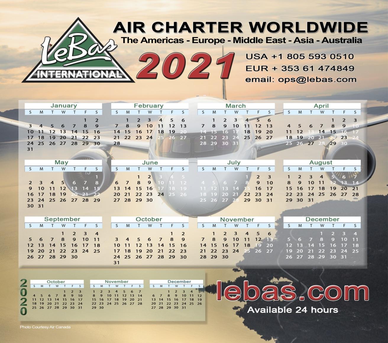 Le Bas Calendar